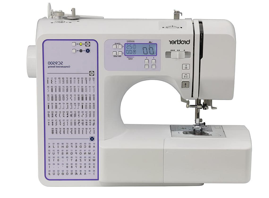 new sc9500 electric computerized heavy duty sewing