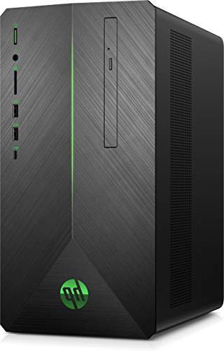 HP Gaming Desktop 5-Series - 8GB - AMD 580-1TB Drive + 128GB State - A Hairline