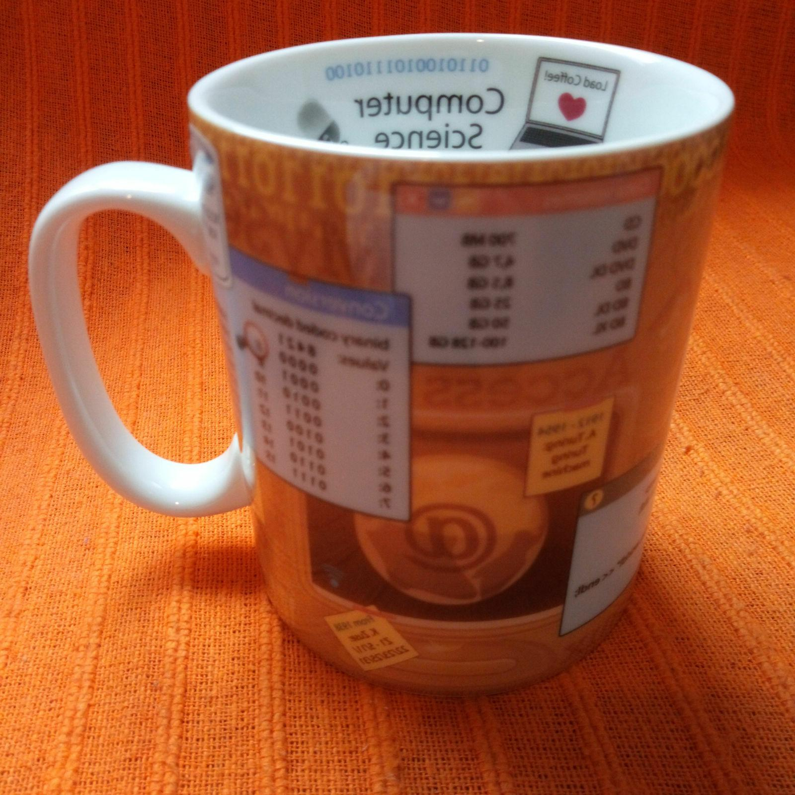 porcelain coffee mug computer science konitz programmer