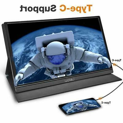 Lepow Portable Monitor 15.6 Inch Computer Full HD IPS Z1 New