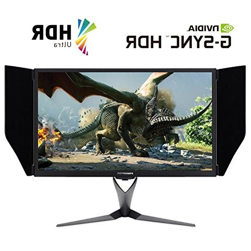 """Acer X27 27"""" 4K IPS Monitor with G-SYNC   Refresh    """