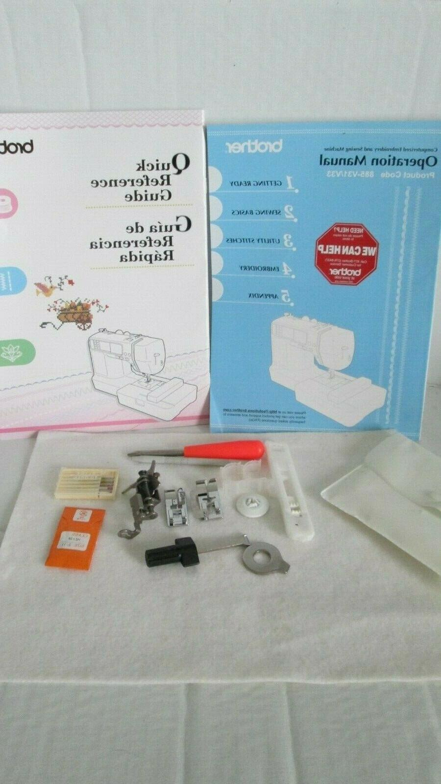 s computerized embroidery and sewing machine manuals