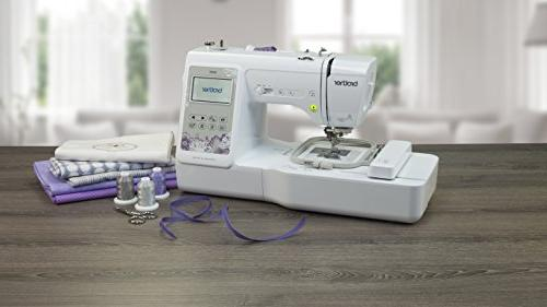 """Brother Machine, Computerized Embroidery Machine 4"""" Embroidery Area, 80 Embroidery Designs, 103 Sewing Stitches, White"""