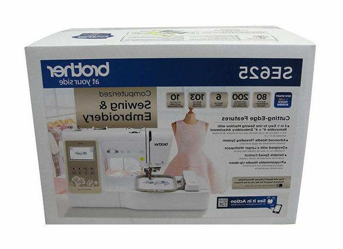 se625 computerized sewing and embroidery machine in