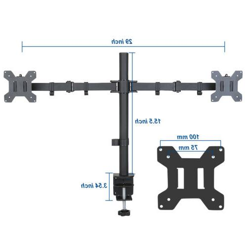 Dual Monitor Computer Monitor Stand for 13 32 Screen