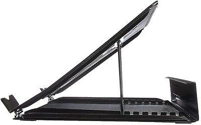 AmazonBasics Ventilated Adjustable Laptop Computer Stand