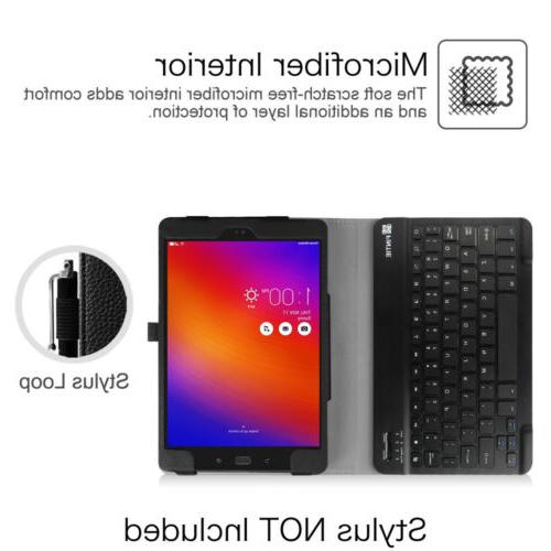 For Verizon ZenPad Z10/ 3S 10 Bluetooth Keyboard Stand Cover