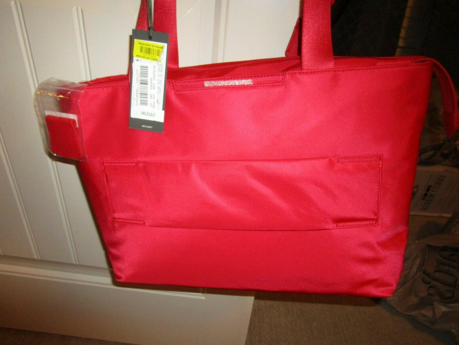TUMI Voyageur new nwt Computer Bag red