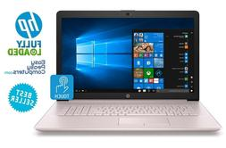 "HP Laptop Touchscreen PINK 17.3"" WIN10 8GB 1TB WiFi Bluetoot"