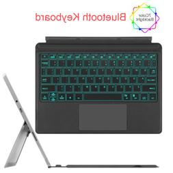 For Microsoft Surface Go 10 Inch Type Cover Backlit Bluetoot