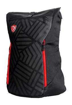 MSI Mystic Knight Gaming Laptop Backpack, Quick Access, Padd