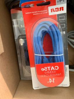 NEW BELKIN 14 FT CAT5e NETWORK ETHERNET CABLE~CONNECT ROUTER