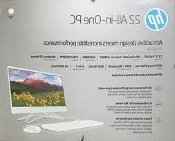 "NEW - HP 22"" All-In-One PC 22-c0073w 2.9 GHz Intel 4GB  1TB"