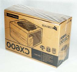 New Sealed Corsair Builder Series V2 CX600 ATX 80 PLUS COMPU
