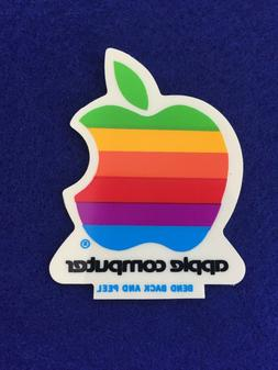 "NEW Vintage Apple Computer Rainbow Logo 2"" from 1988"