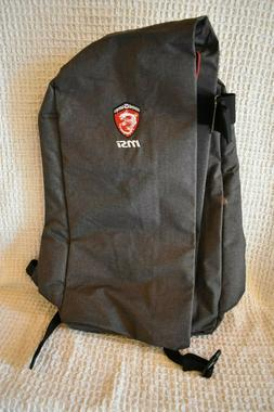 MSI Padded Computer Backpack NEW w/o Tags Gaming G Series  -