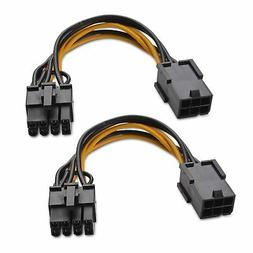 Cable Matters  6-Pin PCIe to 8-Pin PCIe Adapter Power Cable