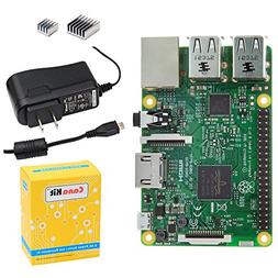 CanaKit Raspberry Pi 3 with 2.5A Micro USB Power Supply