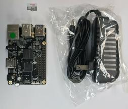 ROCK64 1GB Single Board Computer Kit V2 includes MicroSD and