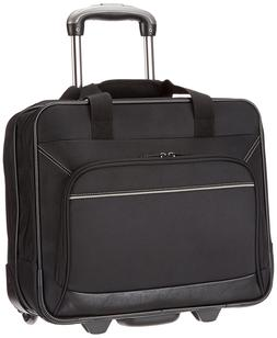 AmazonBasics Rolling Bag Laptop Computer Case with Wheels