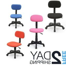 Small Computer Desk Chair For Kids Teens Children With Wheel