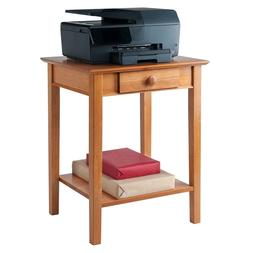 Small Laptop Printer Cart Computer Table Stand Office Storag