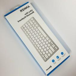 ANKER ULTRA SLIM BLUETOOTH KEYBOARD New SEALED Apple Android